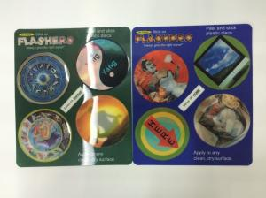 China Disney Audit 3D Printing 3D Lenticular Stickers With PP PET Custom Design 0.45MM thick on sale