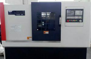 China Vías guías lineares de Taiwán de la máquina del torno del CNC TCK36/lubricación automática on sale