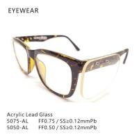 Lightweight 5050/5075 X Ray Glasses , X Ray Lead Glasses Ordinary And Side Type