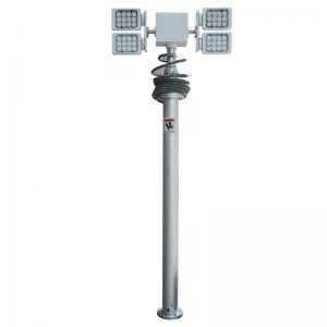 China SG series telescopic high mast lighting equipment on sale