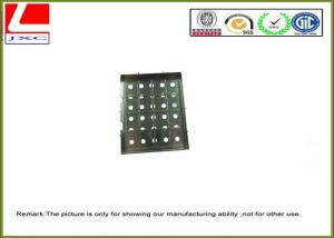 China Custom Sheet Metal Fabrication galvanized sheet metal fabrication with punching process on sale
