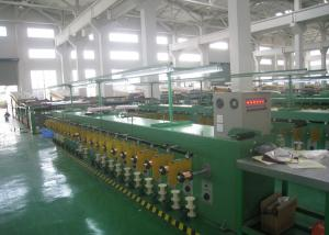 China Tube Tinned Annealed Copper Wire Tinning Machine 68Kw 300 Pay Off Bobbin on sale