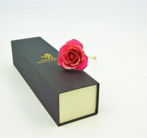 China Colored 24K Pure Gold Foil Rose on sale