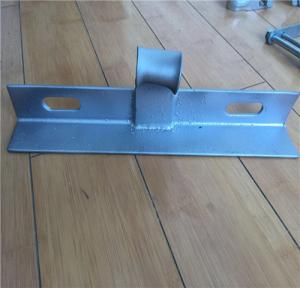 China Electric Power Line Fittings Cross Arm Angle Iron Q235 Mild Steel Material supplier