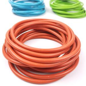 China Colored Fuel Resistant Rubber Seal Rings 40Shore A- 90 Shore A Hardness on sale