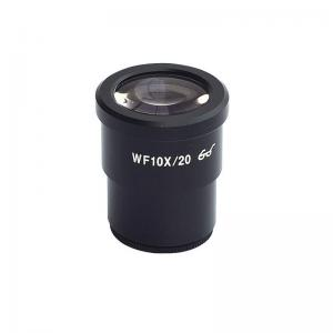 China high eye point eye piece HWF10X wide field view 20mm  for sereo microscope on sale