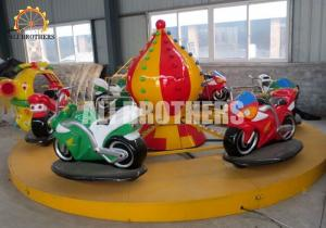 China Funfair Game Children'S Amusement Park Rides Electric Motor Racing Car Ride on sale