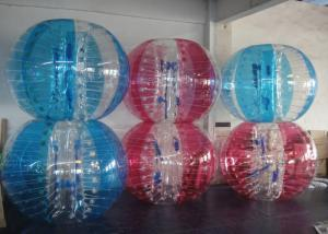 China Colorful Inflatable Bubble Ball Zorbing Soccer Bumper Ball For Outdoor Play on sale
