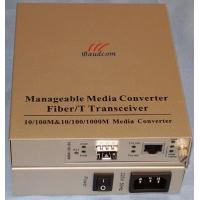manageable 10/100/1000M Standalone Ethernet Fiber Media Converter with SFP slot