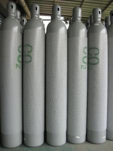 China ISO9809 - 3 Oxygen Gas Cylinder Seamless Steel Oxygen Hydrogen Argon Helium CO2 Gas Cylinder CNG Cylinder on sale