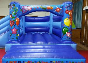 China Digital Printing Kids Inflatable Jumping Castle , Commercial Moonwalk Bouncy Castle on sale