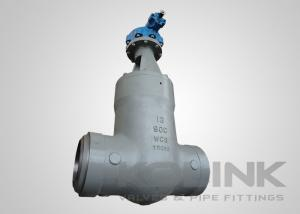 China Pressure Seal Gate Valve Butt-welded High Pressure Class 600-2500 4 - 24 on sale