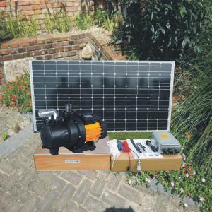China 250W 24V Solar Pool Pump / Solar Powered Swimming Pool Pump on sale