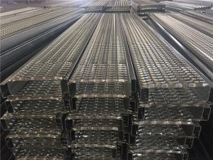 China Safety Galvanized Steel Grating , Expanded Metal Grating For Work Platforms on sale