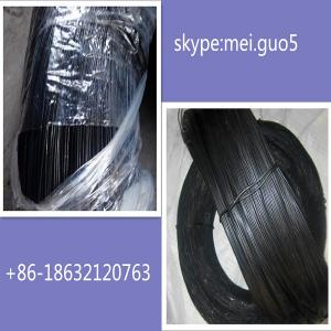 China Soft black annealed wire/black annealed wire on sale