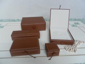 China leatheroid jewelry boxes,ring box,earring box,pendant box,set jewelry box on sale
