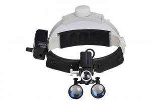 China Portable Dental Medical Surgical LED Head light with 3.5times loupes on sale