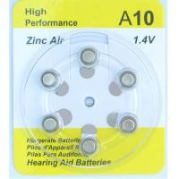 Zinc air battery  A10