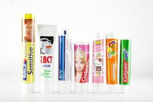 China 150ml Screen Printing ABL / PBL Aluminum Plastic Laminated Tubes With UV Cap on sale