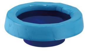 China Rubber Mud Plumbing Toilet Seal Flange , Bottom Mounted Perfect Seal Toilet Wax Ring on sale