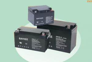 China 7AH to 200AH High output power 2V / 12 Volt Lead Acid Batteries with CE, UL, SONCAP supplier