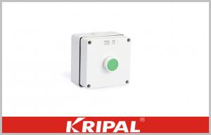 China CE Start Green Button Weatherproof Outdoor Sockets Push Button Power Control Box on sale