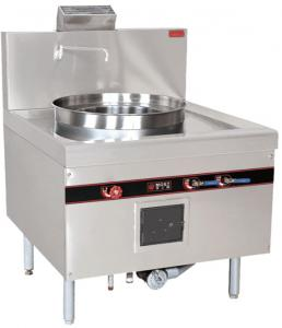 Quality Stainless Steel 52KW Gas Cooking Steamer Chinese Cooking Stove 900x950x1150mm for sale
