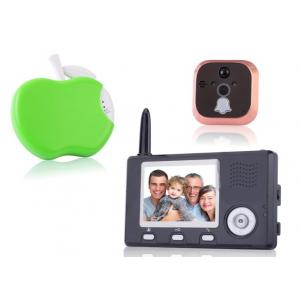 China digital wireless peephole viewer , peephole camera, peephole host, indoor monitor and wireless unlock control on sale