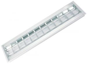 China T8/T5 Grille Fluorescent Light Fixture on sale