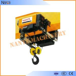 China Workstation Low Headroom IP55 Electric Wire Rope Hoist 5 Ton / 6.3 Ton on sale