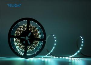 China Flexible un-water   LED Strip Lights  White DC12/24V low Voltage Input on sale