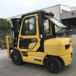 Superior Quality 3 ton forklift price with yellow color