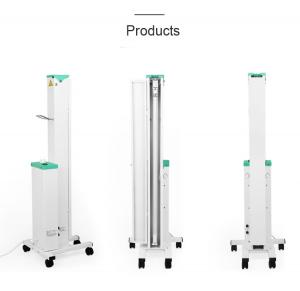 China Oem Radiation Sterilization Uv Disinfection Lamp Cart Foldable Lamp Arms on sale