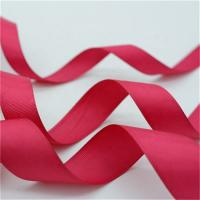 China Fancy Patterned Grosgrain Ribbon , Solid Color Custom Printed Grosgrain Ribbon on sale