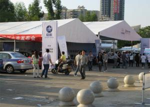 China PVC Soft Wall Exhibition Shelter Large A Frame Tent 12m X 15m Modular Frame on sale