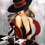 100% Handmade Modern Art Oil Painting Canvas Casino Pop  Gaming Wall Art