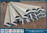 Q345 Material 30FT 3mm Thick Hot Dip Galvanized Steel Tubular Pole