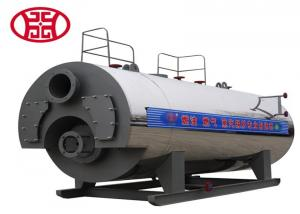 China WNS series horizontal type Fire tube Gas-Fired / Oil-Fired Steam Boiler price on sale