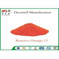 ISO Fabric Color Dye Reactive Brill Orange K-7R C I Reactive Orange 13