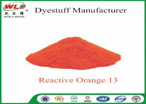 China Textile Synthetic Fiber Reactive Dye C I Reactive Orange 13 100% Purity on sale