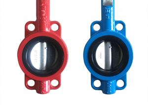 China API609 Butterfly Ductile Iron Valves Body Cast Flange Valves Seal Test on sale