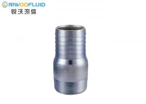 China Non Toxic Stainless Steel Hose Nipple ,Threaded Nipple Fitting Welded Long Shank Type on sale