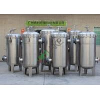 China High Efficiency Stainless Bag Water Filter Housing For Industrial Treatment Filtration System on sale