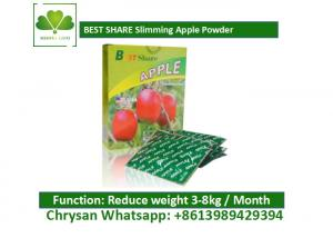 Quality Slimming Apple Powder Weight Loss Fruit Juice For Fat Burning No Side Effect for sale