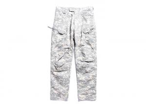 China Lightweight Men's Acu Combat Pants / Cargo Pants Military Style For All Season on sale