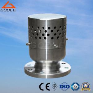 China Vacuum Negative Pressure Safety Valve (A72W-10P/R) Vacuum Breaker on sale