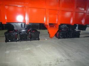 China 0.7 Cubic Meter Underground Mining Equipment Rail Car Low Operational Costs on sale