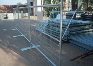 China Galvanized Welded Mesh Temporary Fence, Removable Mesh Fnece Panel,Cheap Wrought Iron Fence Panel For Sale on sale