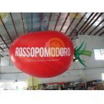 Chiristmas Decoration Inflatable Helium Balloon Attractive Big Apple