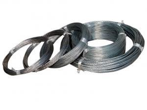 China 24/25 mesurent le petit fil obligatoire galvanisé 400-550N/mm2 d'acier doux de bobine on sale
